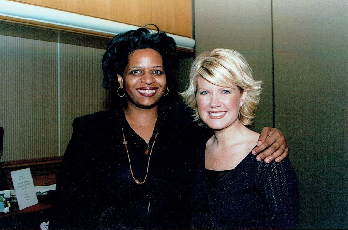 Andrea Rene Williams with Natalie Grant